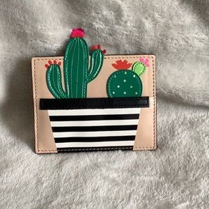 Kate spade scenic route cactus card holder